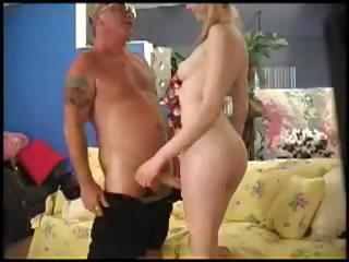 Marketa Brymova bonks an old guy