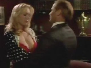 Naturally Busty Blonde Actress Carrie Yazel Wearing Hot Red Lingerie