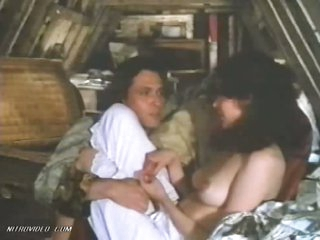 Nice-looking Brunette Sylvia Kristel Shows Her Ideal Natural Boobs