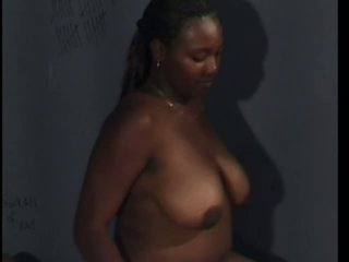 Black Hooker Having Her Hairless Pussy Screwed In Jail Cell
