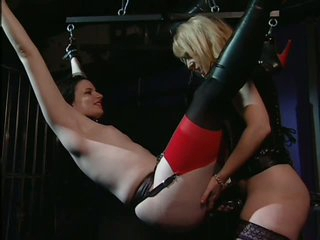 Pliant Deviant Wench Claire Adams gets Tied Up and Tortured