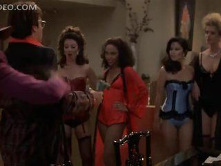Fran Drescher and Lots Of Hot Women Dancing In Really Sexy Lingerie