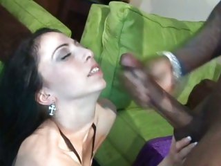 Carnal Veronica Jett gets drenched in hot cum