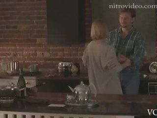 Spectacular Blonde Actress Kelly Rowan In a Hot 'Candyman 2' Sex Scene