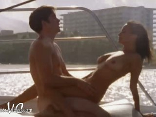 Spectacular Brunette Mariah Serine Gets Banged On a Rocking Boat