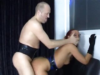 Fetish group sex with pierced cock engulf and fuck