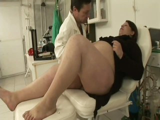 Pregnant BBW Banged By Her Gynaecologist