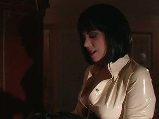 Blonde Honey Gets Her Round Butt Spanked By Busty Dominatrix Mandi Slade