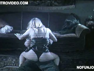 Carnal Joanna Cassidy Getting Gangbanged On The Floor In Black Lingerie