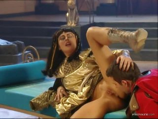 Egyptian Floozy Sandra Russo Loving a Hardcore Anal Sex And Facial