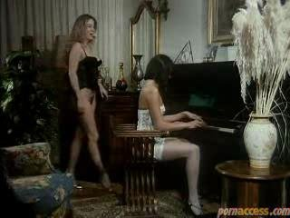 Sexually excited Housewife Lingerie Trio