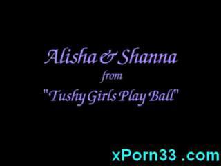 Alisha Klass And Shanna McCullough squirting and fucking