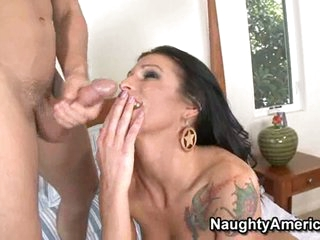Big titted hardcore whore Sea J Raw can't live without swallowing a full load