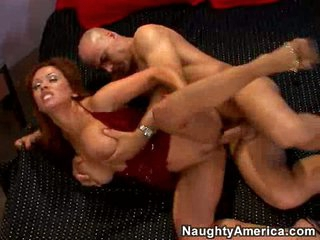 Immodest whore Sienna West gets the perfect bang on her twat til she cums