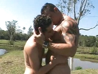 Riding latino hunks angry pecker