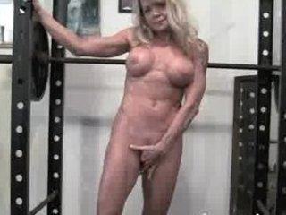 Mature Blonde Gym Instruction