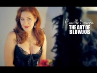 Breathtaking Redhead Gives Amazing Oral-job With Pearl Necklace