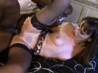 Dana DeArmond cougar have sex with her darksome partner