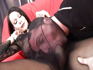 Fetish tranny foot cumshot is amazing