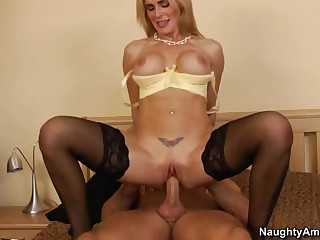 Sexy busty milf Tanya Tate is a perfect one to cheat with. Bill Bailey spends time with her in bed from time to time because she's sexy and because they are neighbours and co-workers!