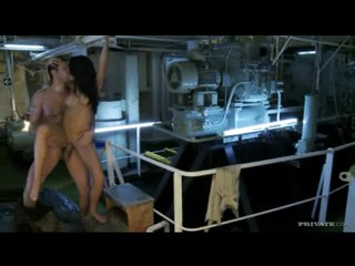 He nails hot body Kortney Kane at work