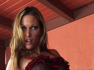 Anna Nova horny for cock and jizz batter