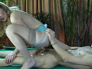Ninette&Harry attractive nylon movie