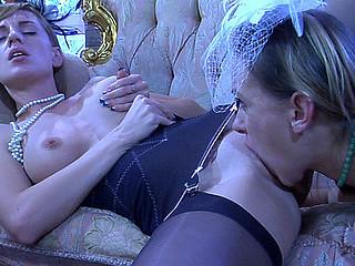 Denis&Rosa hawt lesbo action