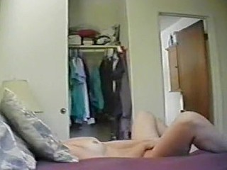 Stay At Home Mom Hidden Cam Masturbation Double Ended Dildo!