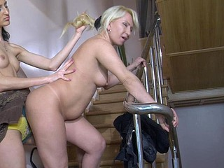 Ottilia&Cora pussyloving mama on movie