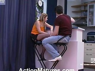 Ramona&Adam horny mamma on movie