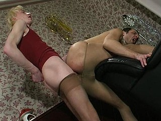Cyrus&Randolph gay hose action