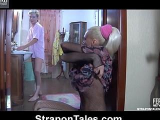 Christiana&Silvester dong sex movie scene