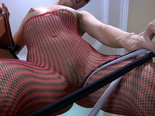 Blanch videotaped during the time that wearing hose