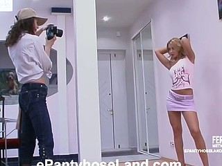 Moni&Antoinette kinky hose movie scene