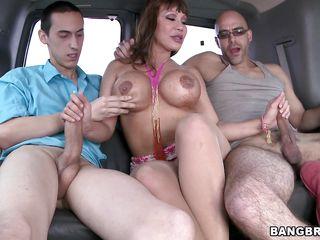 milf banged in car