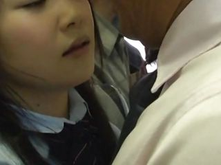 japanese slut wants it hard in the bus