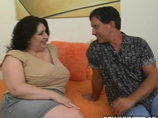 Fattie gets love tunnel banged