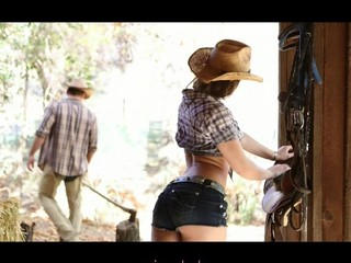 Super sexy horny slut Dani Daniels gets nailed by a huge cock