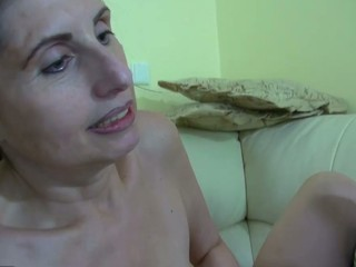 Granny, youthful beauty and large coal-black sex-toy