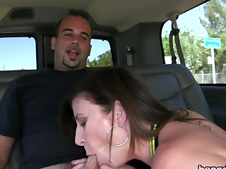 Sara Jay's Huge Ass Fucked On The BangBus...