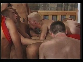Masculine group-sex