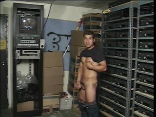 Two dicks in the stockroom