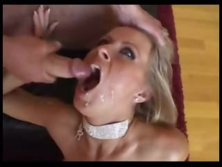 Blonde is a squirter and likes anal sex