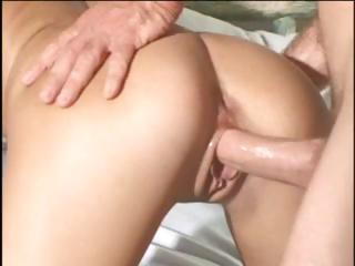 Busty blonde MILF hangs from the canopy and acquires screwed hard
